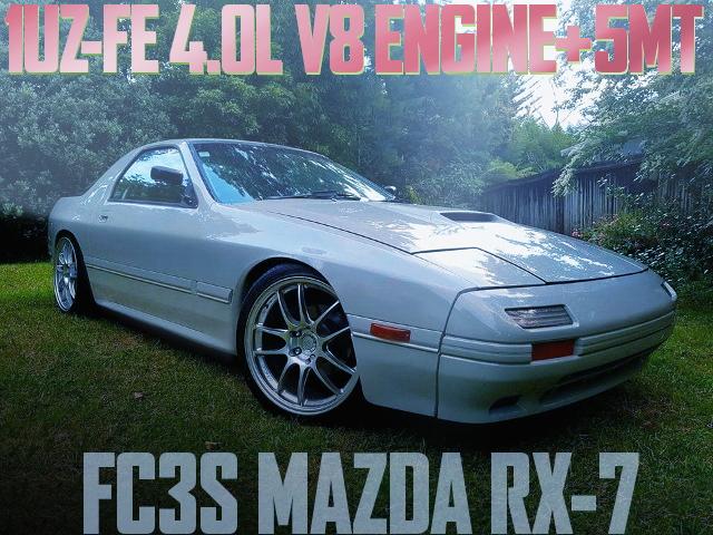 1UZ V8 ENGINE 5MT FC3S RX-7