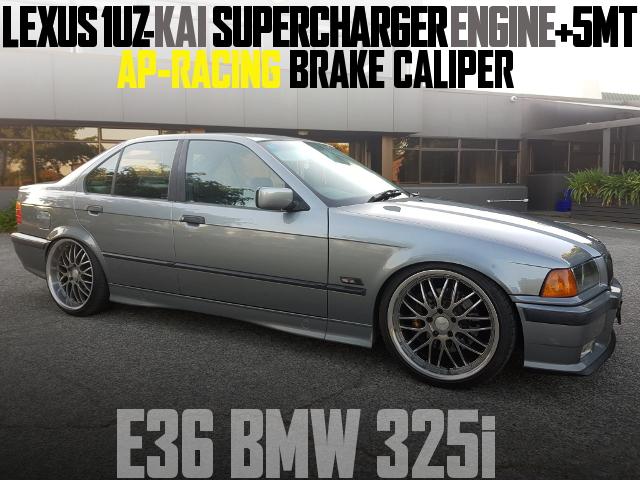 E36 BMW 325i 1UZ SWAP