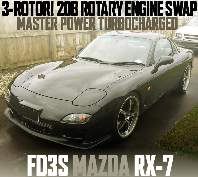 20B ROTARY ENGINE FD3S RX-7