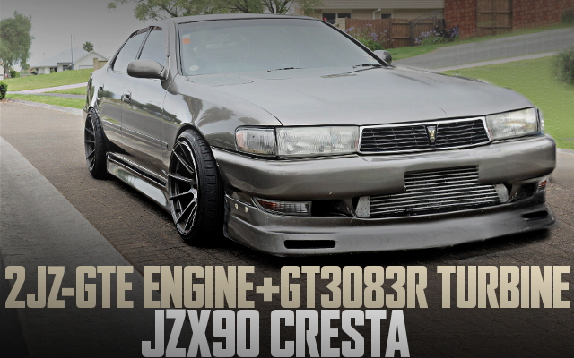 JZX90 CRESTA 2JZ SWAP DRIFT SPEC