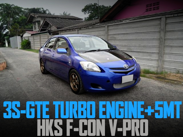 3S-GTE TURBO 5MT VIOS BELTA