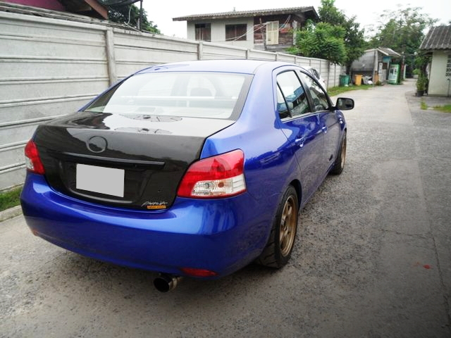 REAR EXTERIOR 2nd GEN VIOS BELTA