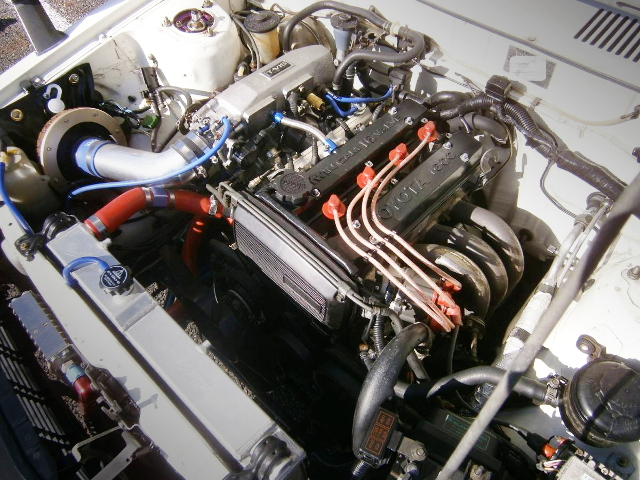 16-VALVE 4AG ENGINE