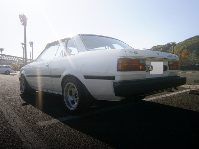 REAR EXTERIOR AE70 COROLLA 2-DOOR