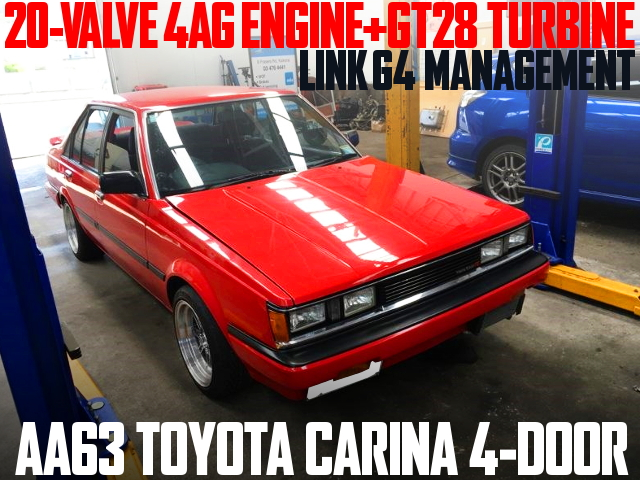 20-VALVE 4AG TURBO AA63 CARINA 4-DOOR