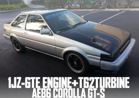 1JZ T62 TURBINE AE86 COROLLA GTS