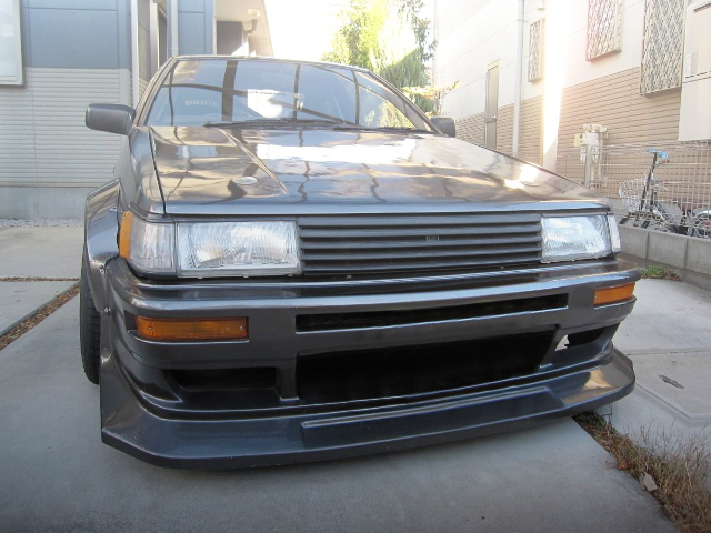 FRONT MASK AE86 LEVIN