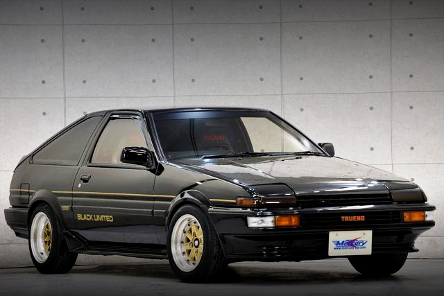 FRONT EXTERIOR AE86 TRUENO BLACK LIMITED
