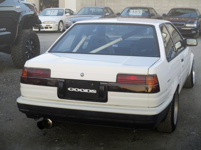 REAR EXTERIOR AE86 LEVIN 2-DOOR