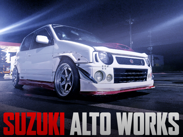 SUZUKI ALTO WORKS WIDEBODY