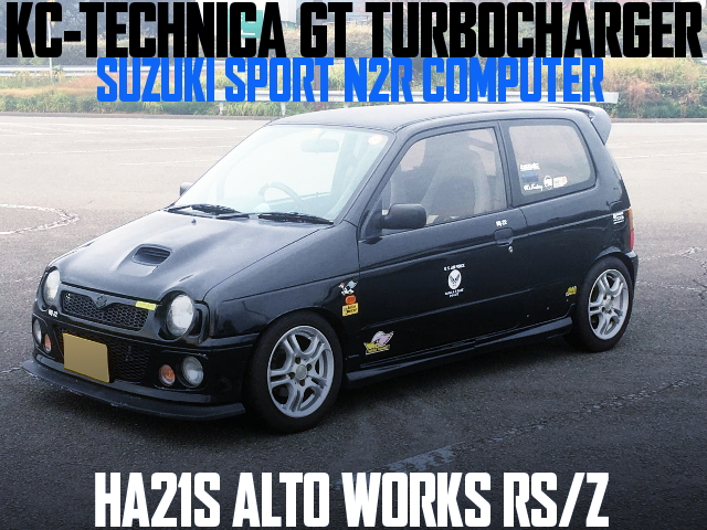 KC-TECHNICA GT TURBINE HA21S ALTOWORKS RSZ
