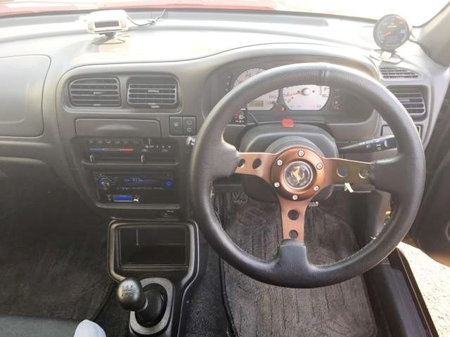 INTERIOR STEERING HA12S ALTO WORKS