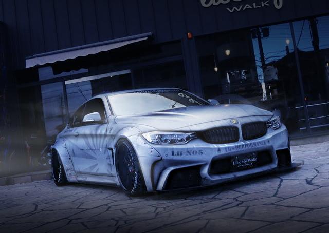 FRONT EXTERIOR BMW 435i LB-WORKS