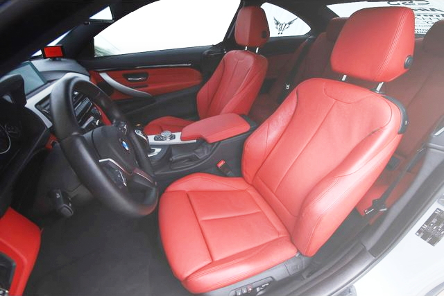 INTERIOR BMW 435i COUPE
