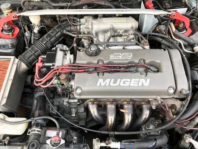 MUGEN HEAD COVER B16A VTEC ENGINE