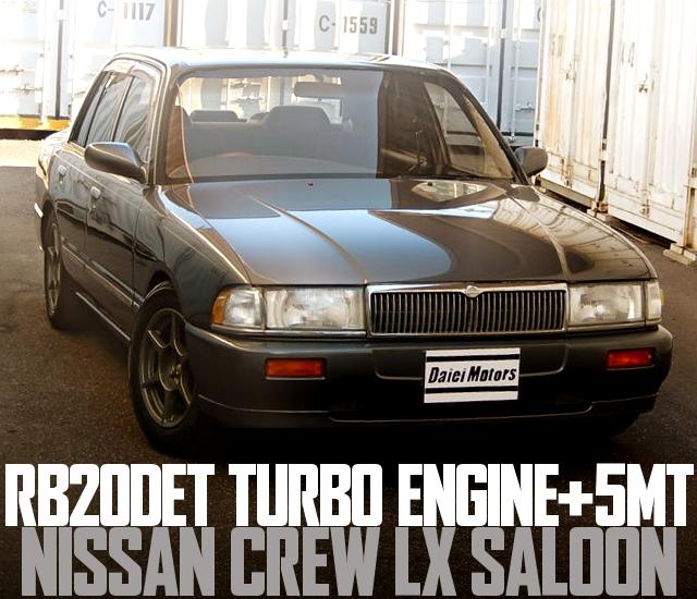 RB20DET ENGINE K30 NISSAN CREW