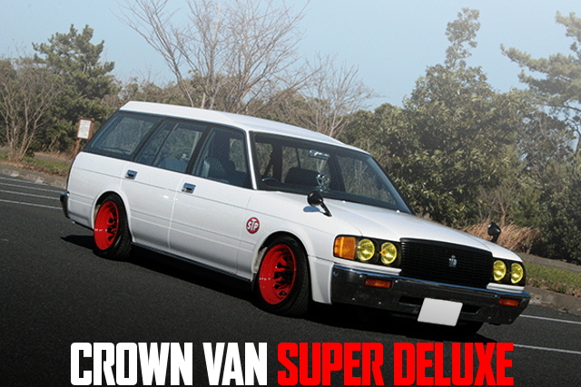 DAYTONA WHEEL GS136V CROWN VAN SUPER DELUXE