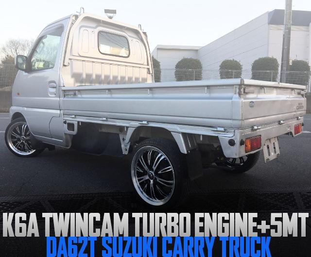 K6A TWINCAM TURBO PDA62T CARRY TRUCK