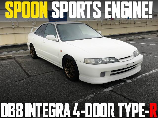 SPOON ENGINE DB8 INTEGRA 4-DOOR TYPE-R