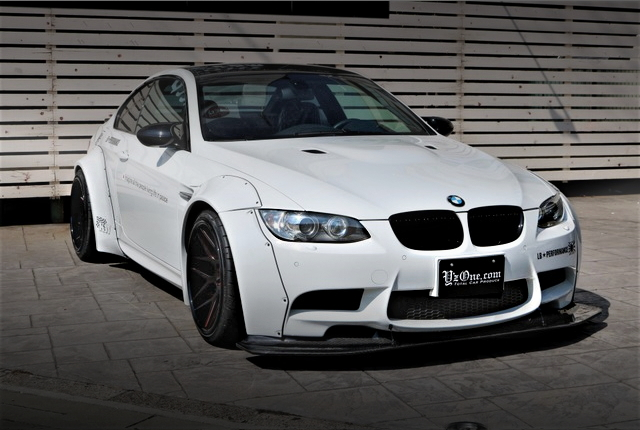 FRONT EXTERIOR E92 BMW M3 LB-WORKS WIDEBODY