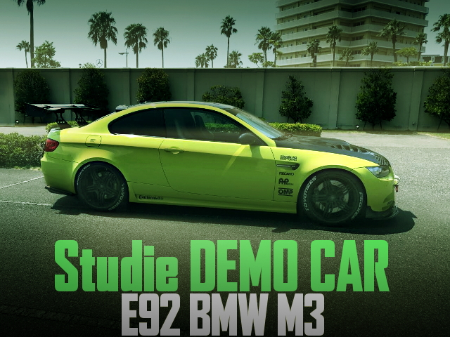 STUDIO DEMO CAR E92 BMW M3