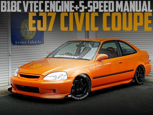 US HONDA EJ7 CIVIC COUPE B18C
