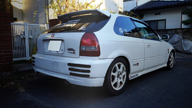 REAR EXTERIOR EK9R CIVIC