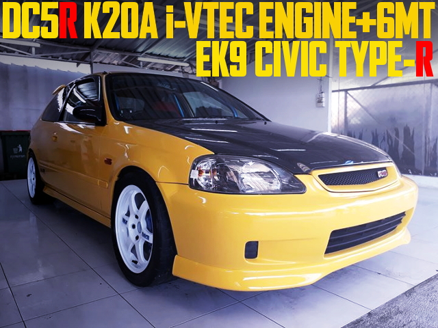 DC5R K20A 6MT SWAP EK9 CIVIC TYPE-R