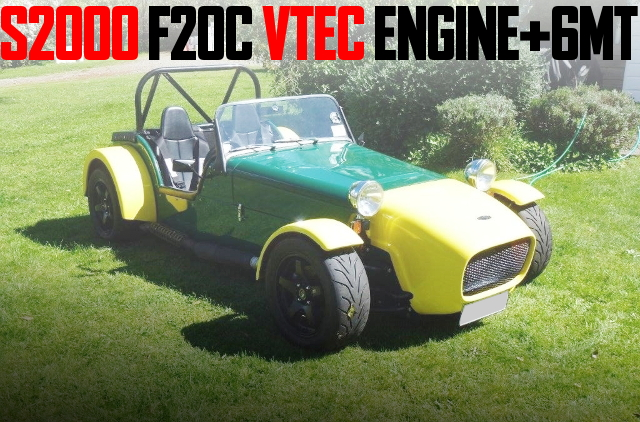 F20C VTEC ENGINE 6MT LOTUS SEVEN KIT CAR