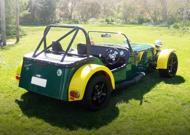 REAR EXTERIOR LOTUS SEVEN KIT CAR