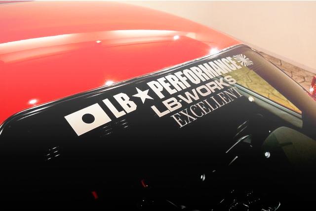 LB-PERFORMANCE STICKER