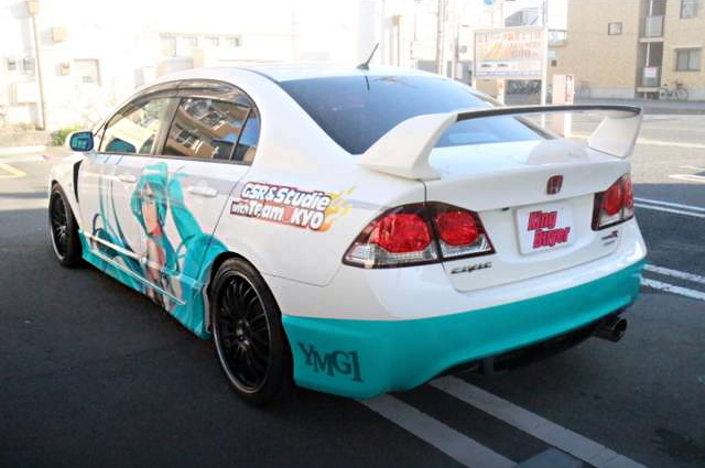 REAR EXTERIOR FD2 CIVIC TYPE-R RACING-MIKU