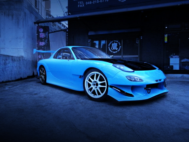FRONT EXTERIOR FD3S RX-7 RE-AMEMIYA WIDE
