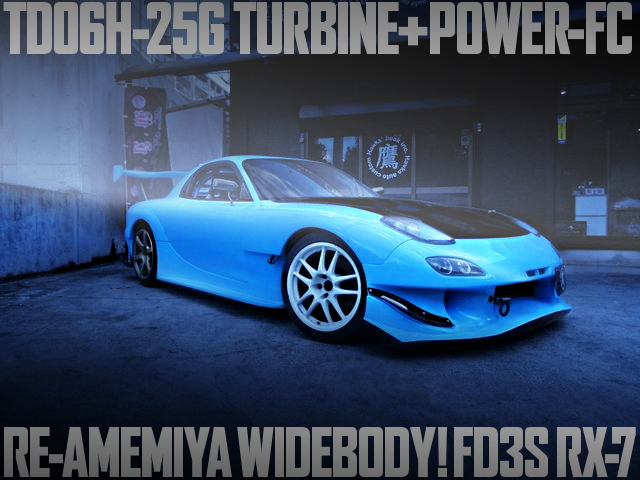 TD06H-25G TURBO RE-AMEMIYA WIDE RX-7