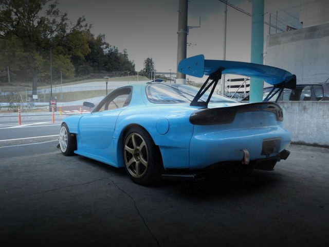 REAR EXTERIOR FD3S RX-7 RE-AMEMIYA WIDE