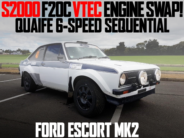 F20C VTEC ENGINE FORD ESCORT MK2