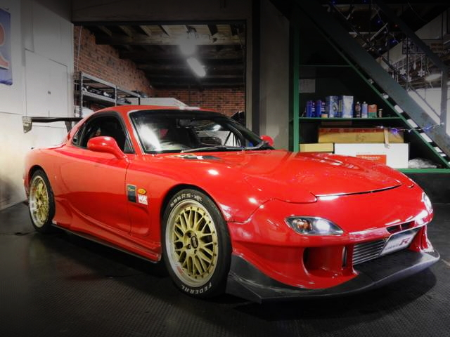 FRONTE EXTERIOR FD3S RX-7 TYPE-R