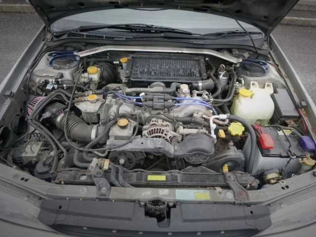 EH20 BOXER TURBO ENGINE