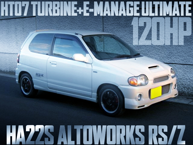 HA22S ALTOWORKS RSZ 120HP