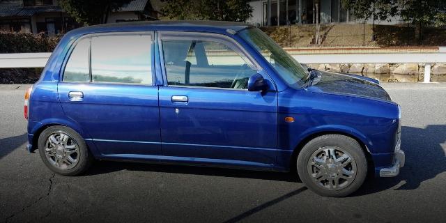 SIDE EXTERIOR MIRA L700 BLUE