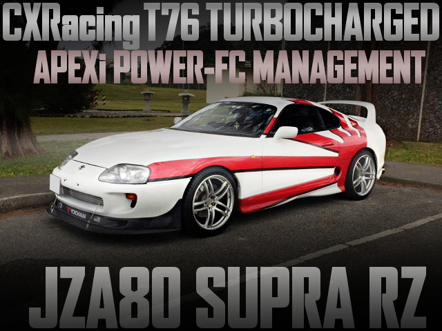 CXRacing T76 SINGLE TURBO JZA80 SUPRA