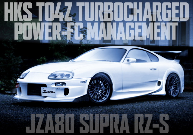 TO4Z 600HP JZA80 SUPRA WIDEBODY
