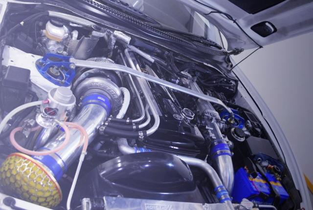 2JZ-GTE ENGINE TO4Z TURBOCHARGED