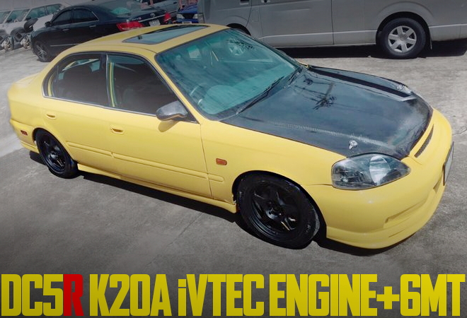 K20A 6MT EK CIVIC FERIO
