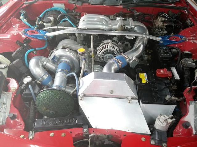 13B-REW SINGLE TURBO ROTARY ENGINE