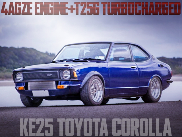 4AGZE TURBO KE25 COROLLA 2-DOOR