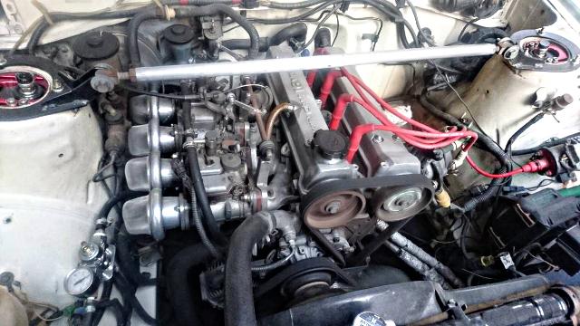 16-VALVE 4AG ENGINE SOLEX CARB