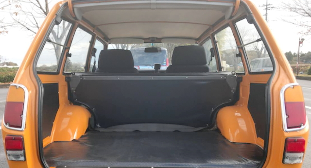 REAR TRUNK ROOM FOR KP37V PUBLICA VAN