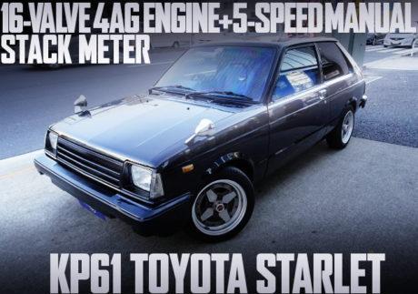 16-VALVE 4AG SWAP KP61 STARLET