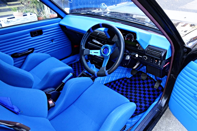 BLUE INTERIOR CUSTOM